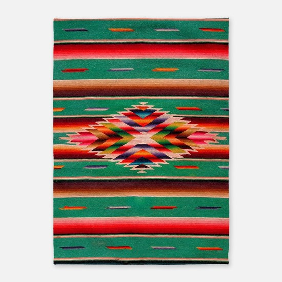 Southwest Weaving 5'x7'Area Rug