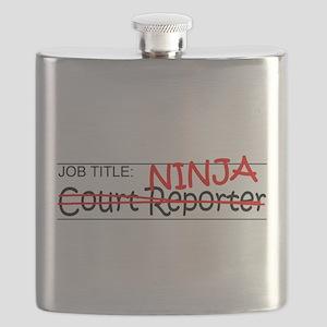 Job Ninja Court Reporter Flask