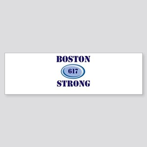 Boston Strong 617 Bumper Sticker