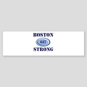 Boston Strong 617 Bumper Sticker