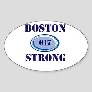 Boston Strong 617 Sticker