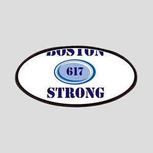 Boston Strong 617 Patches