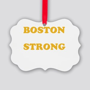 Boston Strong Print Ornament