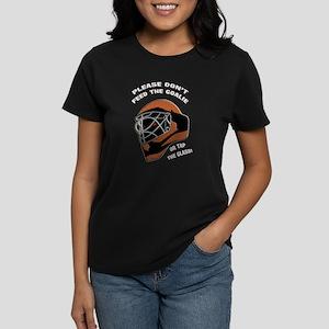 Don't Feed the Goalie Women's Dark T-Shirt
