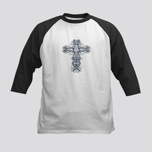 Wire Cross with Miraculous Medal Kids Baseball Jer