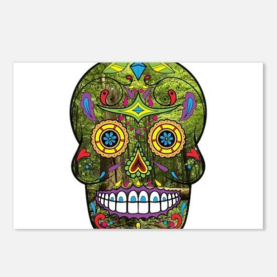 Sugar Skull Postcards (Package of 8)