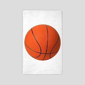 Basketball_larger 3'x5' Area Rug