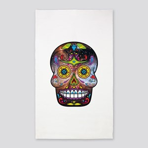Day of the Dead - Sugar Skull 3'x5' Area Rug
