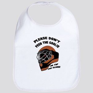 Don't Feed the Goalie Bib