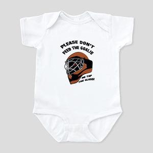 Don't Feed the Goalie Infant Bodysuit