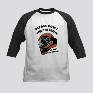 Don't Feed the Goalie Kids Baseball Jersey