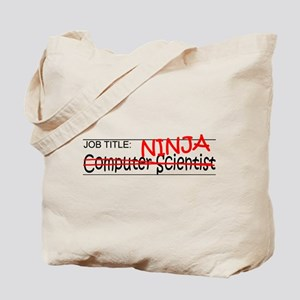 Job Ninja Computer Scientist Tote Bag
