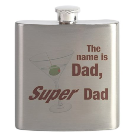 Fathers Day Flask