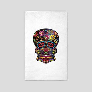 Festival Skull 3'x5' Area Rug