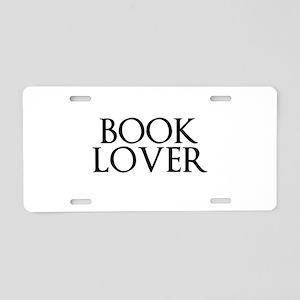 Book Lover Aluminum License Plate