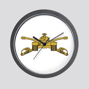 Armor Branch Insignia Wall Clock