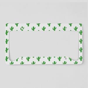 Cacti License Plate Holder