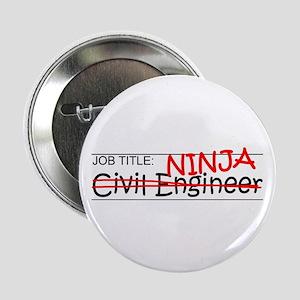 "Job Ninja Civil Engineer 2.25"" Button"