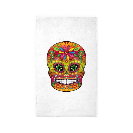 Sugar Skull 3'x5' Area Rug