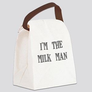 IM THE MILKMAN Canvas Lunch Bag