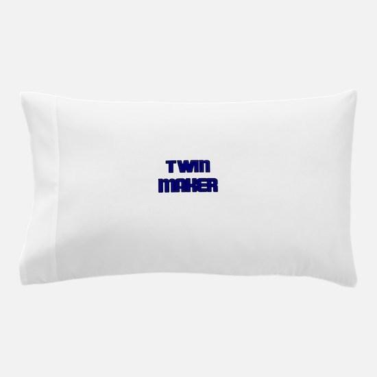 TWIN MAKER BLUE Pillow Case