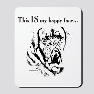Dogue Happy Face Mousepad