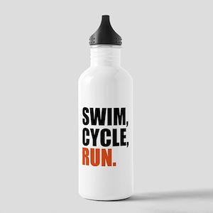 Swim, cycle, run Water Bottle