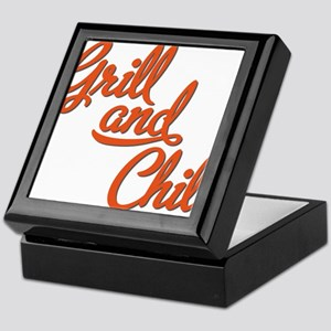 Grill and Chill Keepsake Box