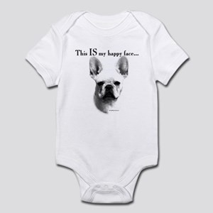 Frenchie Happy Face Infant Bodysuit