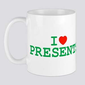 I Heart Presents Mug