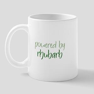 Powered By rhubarb Mug
