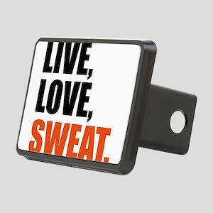 Live love sweat Hitch Cover