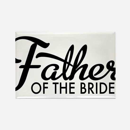 Father of the bride Rectangle Magnet