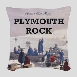 ABH Plymouth Rock Woven Throw Pillow
