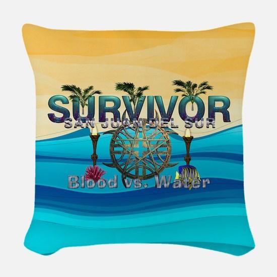 Survivor San Juan Woven Throw Pillow