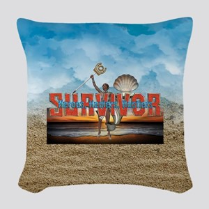 Survivor 2017 HHH Woven Throw Pillow