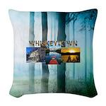 Whiskeytown Woven Throw Pillow
