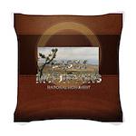 ABH Castle Mountains Woven Throw Pillow