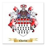 Charles Square Car Magnet 3