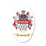 Charles 20x12 Oval Wall Decal