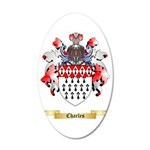 Charles 35x21 Oval Wall Decal