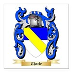 Charle Square Car Magnet 3