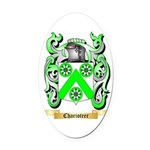 Charioteer Oval Car Magnet