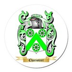 Charioteer Round Car Magnet