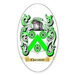 Charioteer Sticker (Oval)