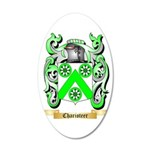 Charioteer 35x21 Oval Wall Decal