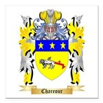 Chareour Square Car Magnet 3