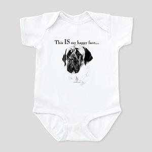 Mastiff Happy Face Infant Bodysuit