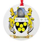 Chardonnot Round Ornament