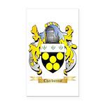 Chardonnot Rectangle Car Magnet